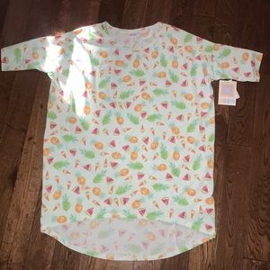 NWT LuLaRoe Irma Shirt Size XS